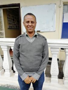 Yohannes Teklay koordinerar projektet i Etiopien